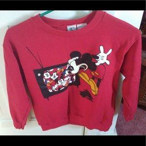 Disney Mickey Mouse Girls M vintage sweatshirt ❤️