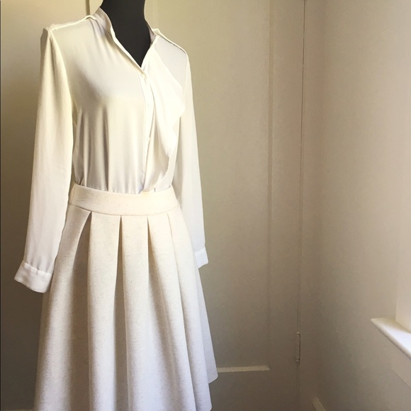 Dresses & Skirts - Scuba Skirt Oatmeal