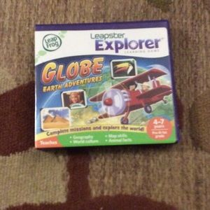 Other - Leapster Explorer globe earth adventures