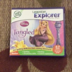 Other - Leapster explorer Disney Tangled