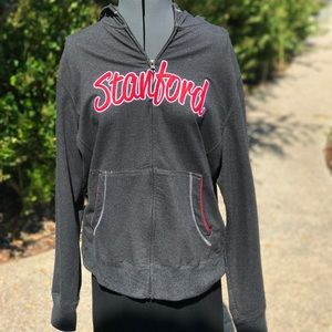 Tops - Stanford zip up hoodie
