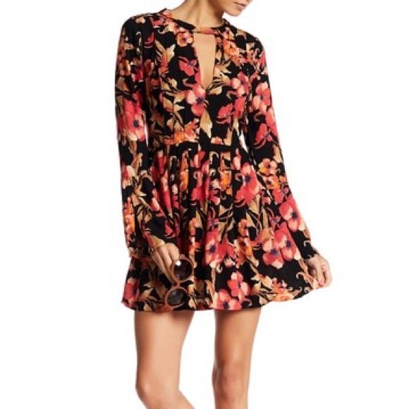 1dfff853b0b06 Free People Dresses | Nwt Tegan Longsleeve Mini Dress Size 4 | Poshmark