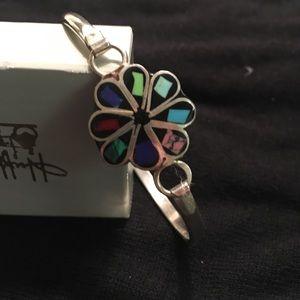 Jewelry - Sterling Clover Cuff