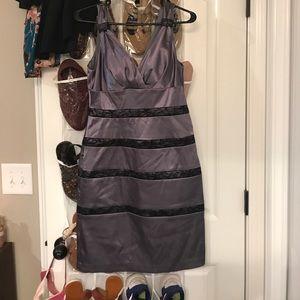 Beautiful grey lace dress! Worn once!