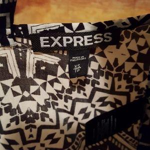 Express Tops - Open back top.