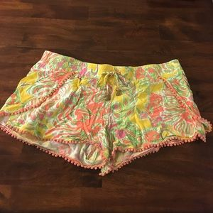 Lilly for Target printed shorts