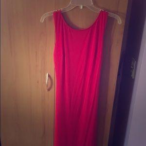 Dresses & Skirts - Red open back dress size medium