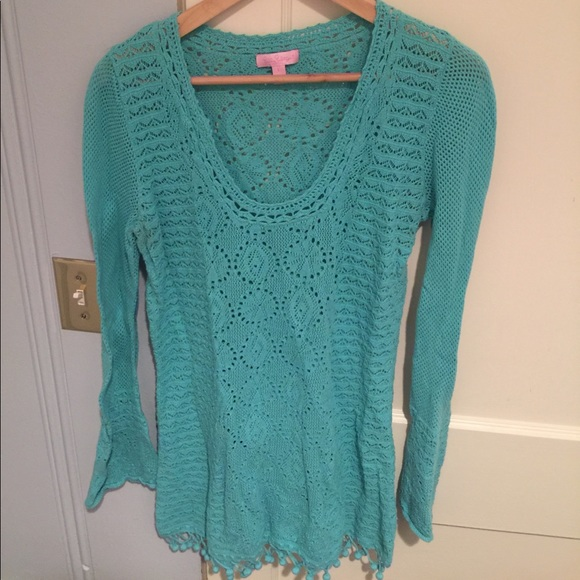 Lilly Pulitzer Sweaters - Turquoise Lilly Pulitzer Sweater
