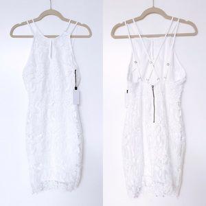 ASTR - Strappy Lace Dress