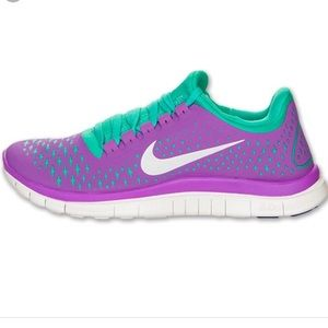separation shoes 4f21f 3bd2a ... best price blue 3.0 v4 nike freerun 3.0 v4 laser purple reflect silver  22ba9 03509