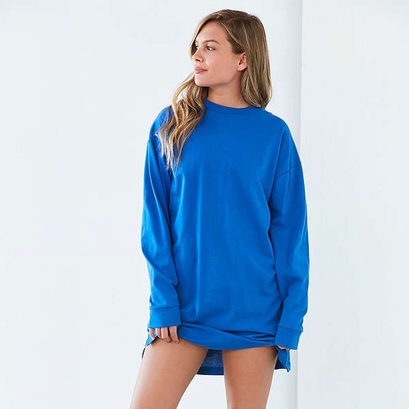 395a236704fc Urban Outfitters Dresses | Bdg Maeby Oversized Longsleeve Tshirt ...