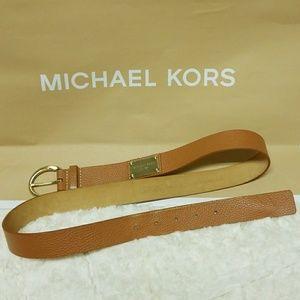 Michael Kors Leather Belt Size L-Authentic