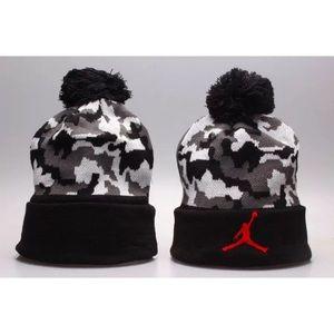 1d7224c5b8d Air Jordan Accessories - Jordan Jumpman Camo Pom Beanie Hat Cap