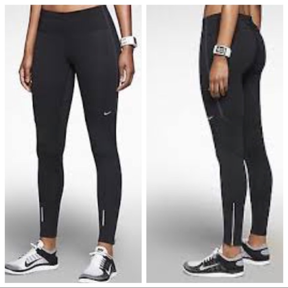 663e737754e7 Nike Lady Element Windless Running Tights. M 598178f84e95a3daf2162c5c