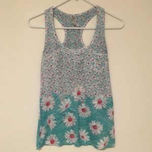 DNA Couture daisy tank top