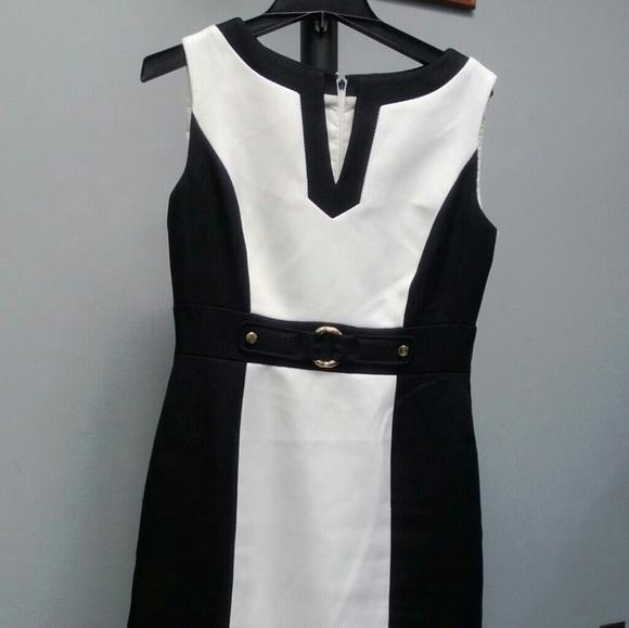 c31cdac552ab Tahari Arthur S. Levine Dresses | Tahari Arthur S Levine Black White ...