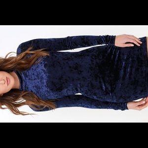 ⚡️⚡️Lulus Navy Blue Mini Dress