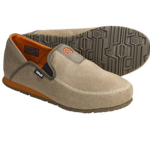80917882d18b Teva Mush® Frio Canvas Shoes - Slip-Ons (For Men).  M 5981b6be7f0a05a3e118c502