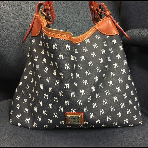 c1e5ed641fe6 Dooney   Bourke Handbags - Dooney   Bourke New York Yankees Hobo Bag