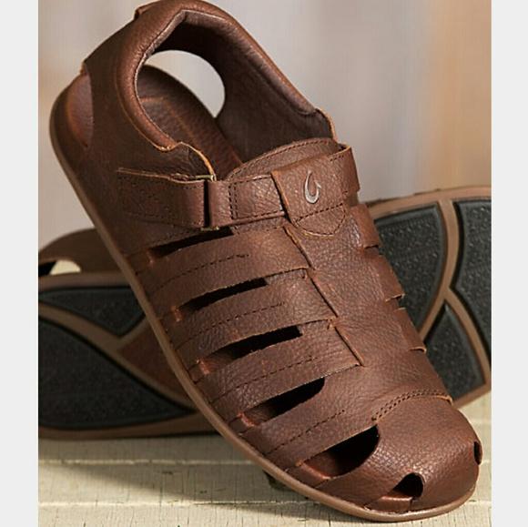 328ba98b81dc Mens Mohalu brown Olukai Fisherman sandals 8. M 5981cfbcf0137deac618c547
