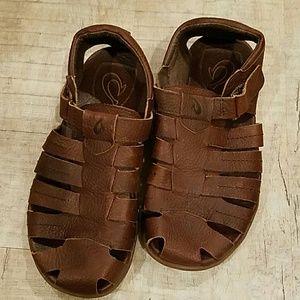 473233d27906 OluKai Shoes - Mens Mohalu brown Olukai Fisherman sandals 8