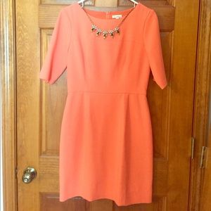 Dresses & Skirts - Coral sheath dress