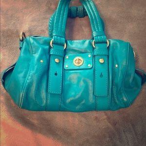 Handbags - Marc Jacobs cross body bag in turquoise.