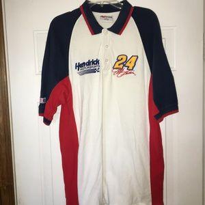 Other - Vintage NASCAR Jeff Gordon polo Shirt Size Large