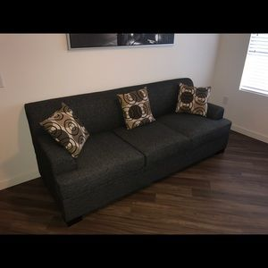 Brand new grey couch!!