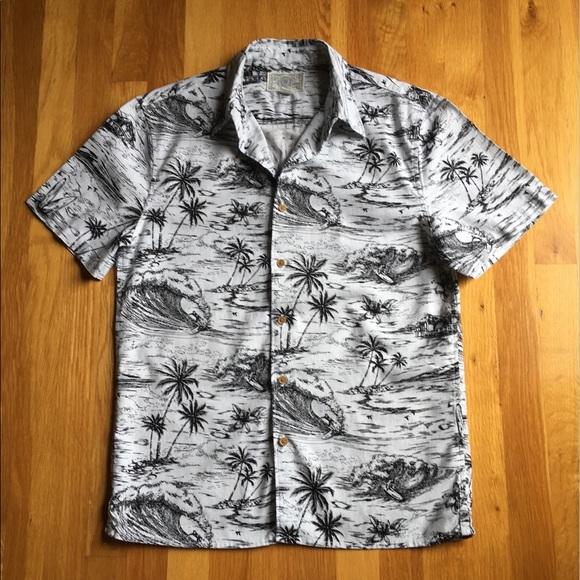 8559b7e4515b Lucky Brand Other - Lucky Brand Hawaiian Surf Short Sleeve Shirt Sz S