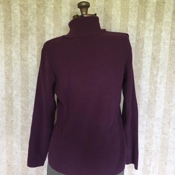 St. John's Bay Sweaters - Ribbed turtleneck