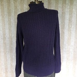 Sonoma Sweaters - Purple turtleneck