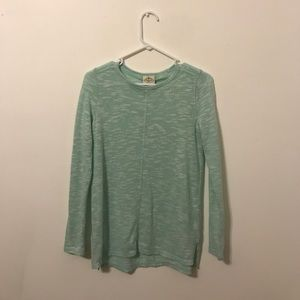 Tops - sea foam green long sleeve sweater