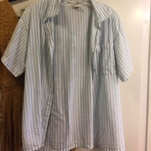 Tops - Vintage Striped Button Up