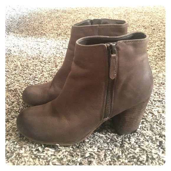 e152c8f36f37 bp Shoes - BP Taupe Leather booties