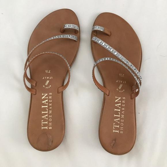 c0465a1a7455 Italian ShoeMakers Shoes - Cute Jeweled Sandals