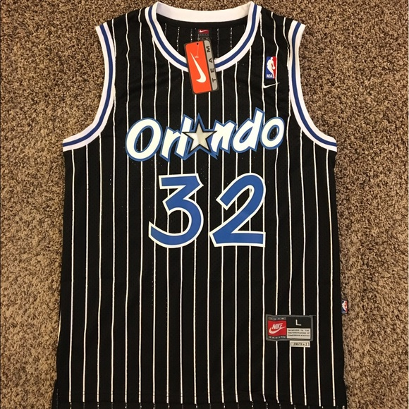 newest collection 11151 a94f1 Nike #32 Shaquille O'Neal Orlando Magic Jersey NWT
