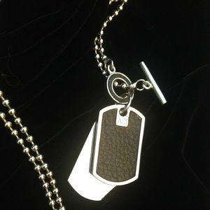 9e9290022b5 A X Armani Exchange Jewelry - A X - Army Style (Dog Tag