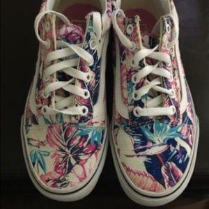 Vans Old Skool tropical Floral sneakers 6.5