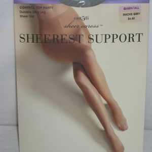 701ca34cc East 5th Accessories - Plus Size Pantyhose Sheer Caress Sheerest Support
