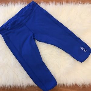 Lorna Jane Bright Royal Cropped Legging