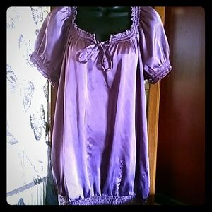 Two Hearts Maternity Tops - PRETTY IN PURPLE MATERNITY TOP 💎5-4 $20💎🎅