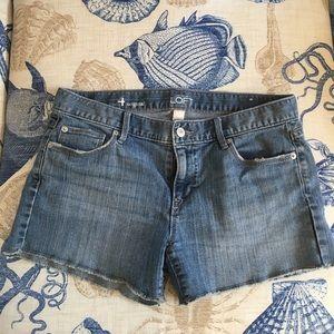 Pants - Ann Taylor Loft denim shorts size 4 original