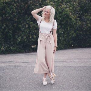 Pants - Blush Pink Culottes