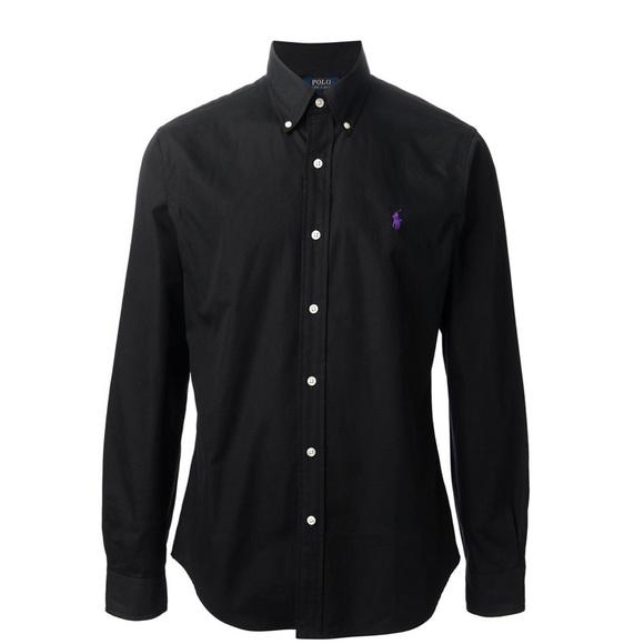 57b168d7 Polo Ralph Lauren | Men's Black Button Down