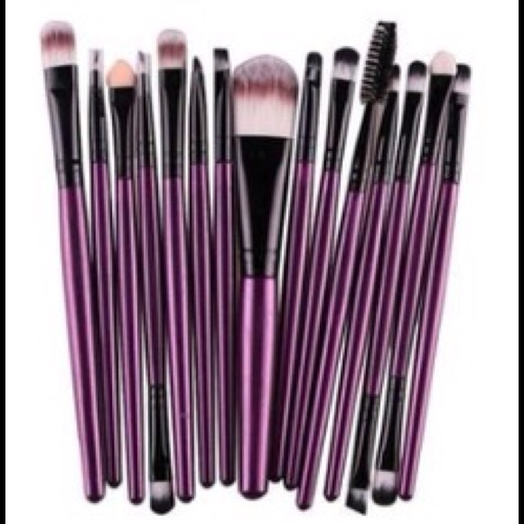 Other - ✨HP💝❗️15 Pcs Makeup Brushes ❤️✨❗️❗️❗️