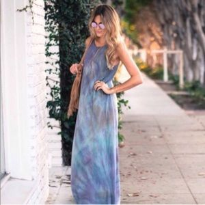 Sale 🌸 NEW Junim LA Silk Maxi Dress   Aurora