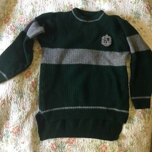 159a06324fc Harry Potter Slytherin Quidditch Jumper Sweater