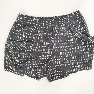 Jcrew silk shorts