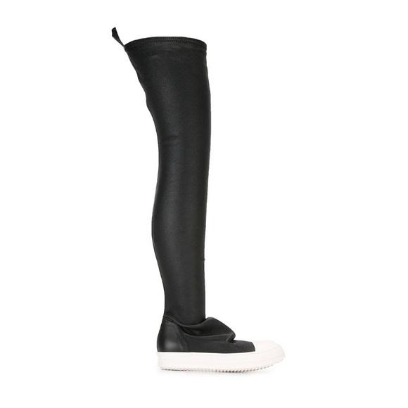 Rick Owens Drkshdw Thigh High Boots